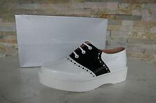 luxus ROBERT CLERGERIE Halbschuhe Gr 39 Schnürschuhe Schuhe Shoes neu UVP 350 €