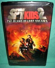 Spy Kids 2 VHS The Island Of Lost Dreams Antonio Banderas Carla Gugino Clamshell