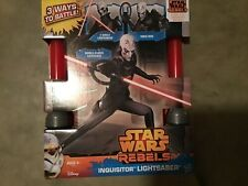 2014 Hasbro Star Wars Inquisitor Electronic Lightsaber REBELS  NEW/UNOPENED