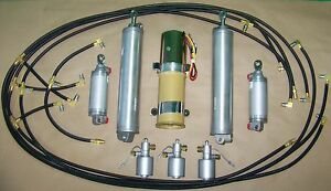 NEW 1961-1963 Lincoln Continental Convertible Complete Hydraulic Kit- USA Made