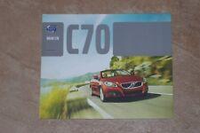 2013 VOLVO C70 (hardtop cabrio) brochure, Dutch