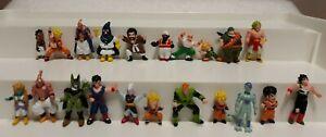 Dragon Ball Z Mini Figures 1989 Anime Toy Lot