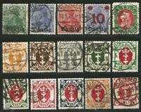 Germany Weimar Rep. Free City Danzig 1920-1923 Used - BPP Tested definitives