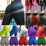 Women Scrunch Yoga Pants Capri Shorts Anti-Cellulite Push Up Leggings Booty Gym