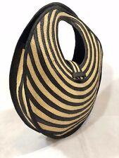 Cane of Arrow Shoulder Bag, Unique Bag, Artisan Style, Round Shape Bag