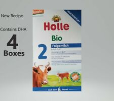 4-Boxes Holle-Organic-infant-Form ula-Stage 2 Free priority shipping 00004000