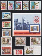 Mozambique 1976-79 Collection de timbres non montés excellent état RE:qg398