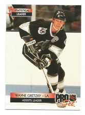 1992-93 Pro Set #246 Wayne Gretzky Los Angeles Kings LL