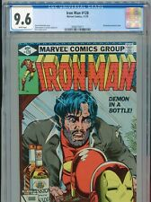 1979 MARVEL IRON MAN #128 JOHN ROMITA JR. ALCOHOLISM ISSUE CGC 9.6 WHITE BOX1