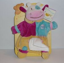 Doudou Vache Babynat Baby Nat' - Neuf