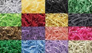 16 Colors ~ 7.5 oz Crinkle Cut Paper Shred Gift Bag Basket Grass Filler Bedding