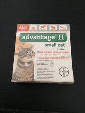 Advantage II For Small Cats--New--4 Dose Pack--