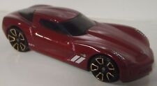 HOT WHEELS 09 CORVETTE STINGRAY CONCEPT (RED) LOOSE (FASTER THAN EVER)