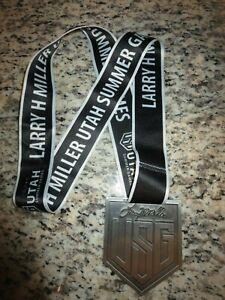 Utah Summer Games USG Larry Miller Running Race Medal