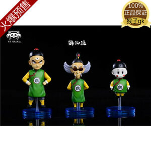 DRAGON BALL Crane Herm Tien Shinhan Resin Figure GK Zukan Collection Pre Set N
