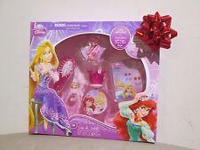 (NEW) Disney Princess Eau de Toilette 1.02 oz & Accessories Gift Set