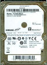 ST500LM012, HN-M500MBB/SCC,  C7572-G12A-AAQ8I,  2AR10002,  SAMSUNG 500GB