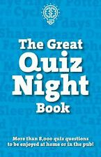 The Great Quiz Night Book Paperback