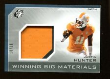 Justin Hunter 2013 UD SPX Winning Big Materials Jersey 10/10 Vols 39586