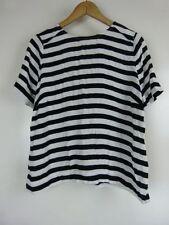 Sussan Short Sleeve Regular Striped Tops & Blouses for Women