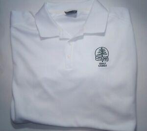 Tappi Gulf Coast Nike Golf Polo Short Sleeve 2xl White