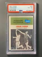 1961 Fleer #63 John Kerr Rookie PSA 4 VGEX Syracuse Nationals