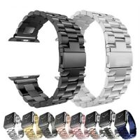 Stainless Steel For Apple Watch Strap Band Series 6/5/4/SE iWatch 38/40/42/44mm