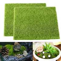 Artificial Grass Fake Lawn Simulation Miniature Ornament Dollhouse 15X15