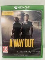 A WAY OUT XBOX ONE X Enhanced L4