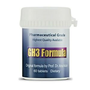 Gerovital GH3 tablets - Genuine formula - 60 tablets.  Most popular on Ebay!