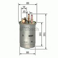 NEW ENGINE FUEL FILTER OE QUALITY REPLACEMENT BOSCH 0450906376