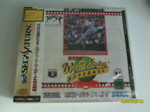 "World Series Baseball ""Hideo Nomo"" (Sega Saturn) - Japanese Imports"