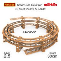 HMC03-30 CM Helix for Marklin C-Track / Gleiswendel für C-Gleis (24330 & 24430)
