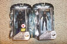 Movie Master BATMAN The Dark Knight Rises Bat Signal K Mart Blueprint & Catwoman