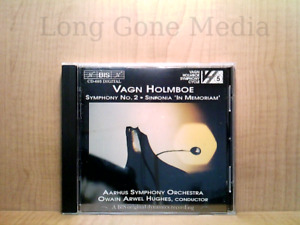 "Symphony No. 2 / Sinfonia ""In Memoriam"" by Vagn Holmboe (CD, Import, 1995, BIS)"