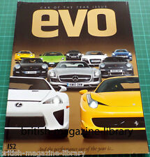 Evo Magazine 152 - Car of the Year 2010 - Track Car of the Year 2010