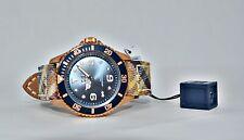 Ice Watch Hielo-Cheques Beige Rosa Oro Reloj Unisex IS.BG.RG.U.C.14 Nuevo Hombre