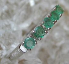 Smaragdringe in aus ✨✨ 585 Gold Ring mit Smaragd Smaragde Smaragden aus Weißgold