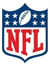 12 STICKERS NFL LOGO Vinyl HQ Decal Stickers  CAR Laptop WALL Helmet