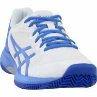 ASICS Gel-Court Speed Clay   Womens Tennis Sneakers Shoes Casual   - White -