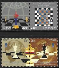 2013 ARMENIA - SG: 864/5 - CHESS 3 x OLYMPIC TEAM CHAMPION+ WORLD CHAMPION - UMM