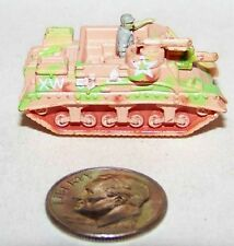 Small Micro Mach Plastic WWII type US Army M-7 Priest Self PropGun Pink wPink MG