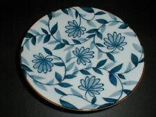 Landmark Designs Japanese Porcelain Cobalt Blue White Floral Salad Plate/s (s-70