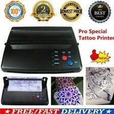 Pro Black Tattoo Transfer Copier Printer Machine Thermal Stencil Paper Maker New