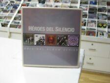Heroes Del Silencio 5CD Europe Original Album Series 2014