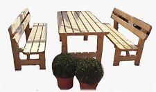 Bierzeltgarnitur Biergartengarnitur Sitzmöbel Sitzgruppe Gartensitzgruppe Tisch