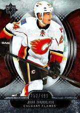 2013-14 UD Ultimate Collection #46 Jiri Hudler