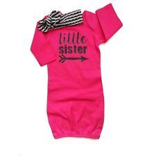 Baby Girl Cotton Sleepwear Robe Outfits Newborn Gown Pajamas Set Night Dress