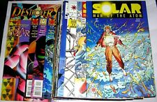 SOLAR MAN OF ATOM  1/60 ( - 4 ) + 2 SPECIALI - VALIANT 1991/6 ( COMICS USA )