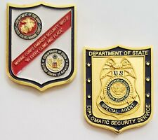 Marine Corps Embassy Security Group USMC MSG DOS Diplomatic Security Service